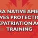 NAGPRA (Native American Graves Protection & Repatriation Act) Nov 15-16